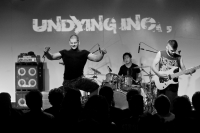 Undying Inc came on, and the crowds looked relieved that vocalist Shashank Bhatnagar was on stage and not in the mosh pit. This was his first gig back after the brief split with the band.<br/><span class='courtesyName'> Photo Courtesy - Vijay Kate  </span>