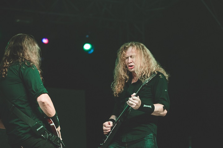 Megadeth. Photo by Himanshu Rohilla