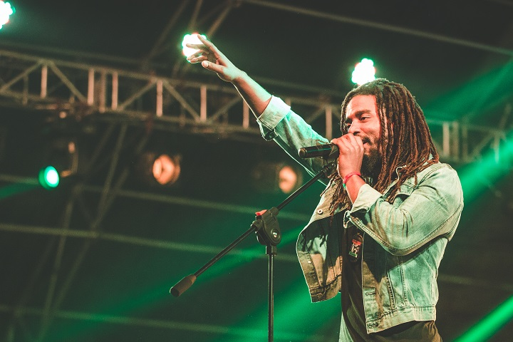 The Wailers vocalist Dwayne Anglin. Photo by Himanshu Rohilla